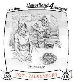 16e Heuvelland wandelvierdaagse 2003 - dag 1