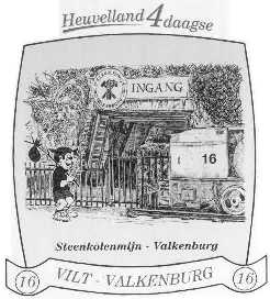 16e Heuvelland wandelvierdaagse 2003 - stikker
