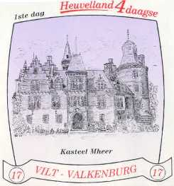 stikker Heuvelland wandelvierdaagse 2004 - dag1