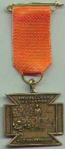 medaille Heuvelland wandelvierdaagse nummer 15