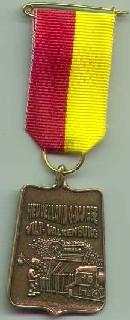 medaille Heuvelland wandelvierdaagse nummer 16