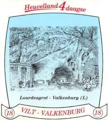 stikker Heuvelland wandelvierdaagse 2005