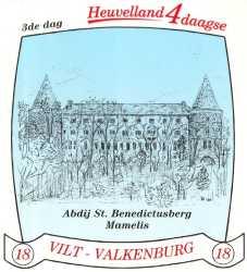 stikker Heuvelland wandelvierdaagse 2005 - derde wandeldag