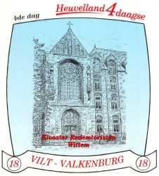 stikker Heuvelland wandelvierdaagse 2005 - vierde wandeldag