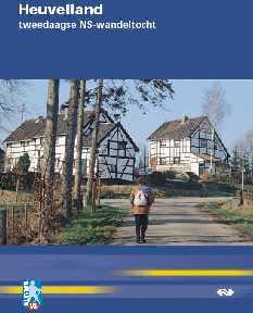 voorblad NS-wandeltocht Heuvelland tweedaagse boekje