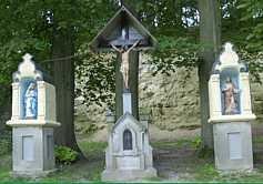 de drie beeldjes bij Valkenburg aan de Geul