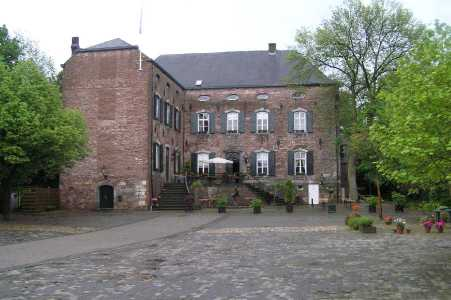 Met de Ronde van Zuid-Limburg 2006;kasteel Erenstein