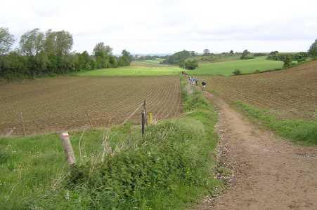 Met de Ronde van Zuid-Limburg 2006; nabij Ubachsberg