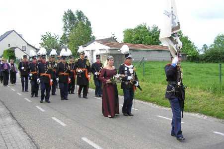 Met de Ronde van Zuid-Limburg 2006;statie nabij kapel te Mingersberg