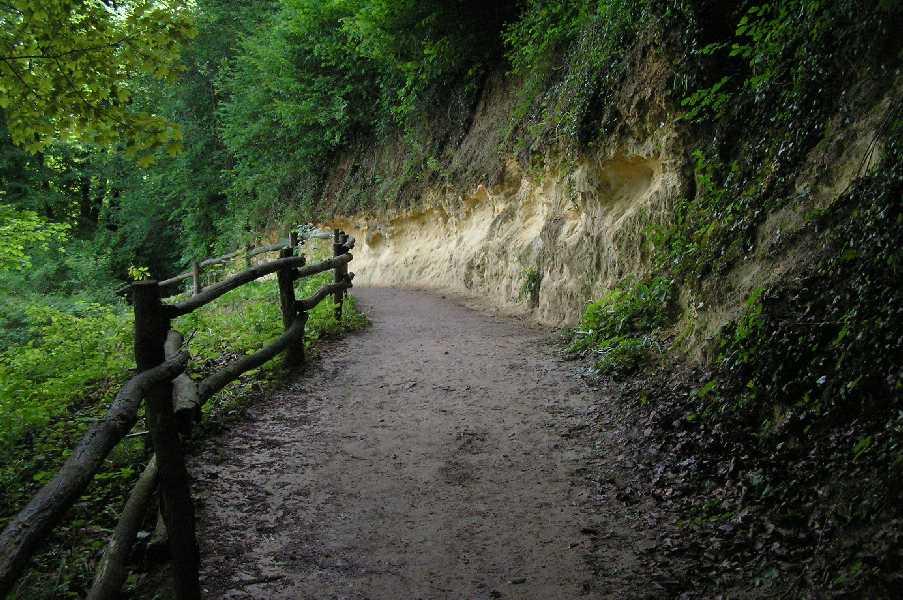 steile helling langs de Geul