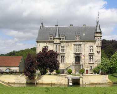 Met de Ronde van Zuid-Limburg 2006; kasteel Schaloen