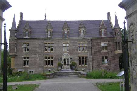 Met de Ronde van Zuid-Limburg 2006; kasteel TerWorm te Heerlen