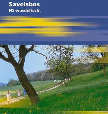 voorblad NS-wandeltocht Savelsbos boekje