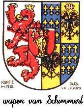 Dit is het wapen van Schimmert. Dit wapen is te vinden op de lokatie www.ngw.nl/indexgb.htm  Deze site is mogelijk gemaakt door de Bank Nederlandse Gemeente te Den Haag