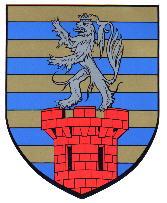 Dit is het wapen van Diekirch, Luxemburg.  Dit wapen is te vinden op de lokatie www.ngw.nl/indexgb.htm   Deze site is mogelijk gemaakt door de  Bank Nederlandse Gemeente te Den Haag