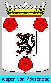 Dit is het wapen van Roosendaal. Dit wapen is te vinden op de lokatie www.ngw.nl/indexgb.htm  Deze site is mogelijk gemaakt door de Bank Nederlandse Gemeente te Den Haag