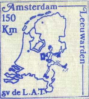 Badge Amsterdam-Leeuwarden