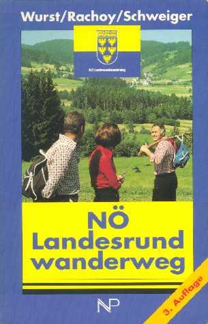voorblad wandelboekje Niederösterreichische Landesrundwanderweg
