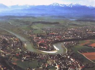 Oberndorf bei Salzburg - Salzachschleife