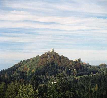 Oberneukirchen Ruïne Waxenberg