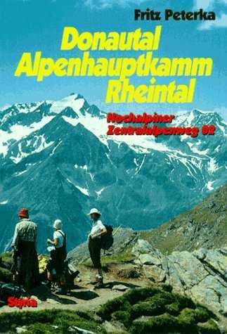 voorblad wandelboekje Hochalpiner Zentralalpenweg 02