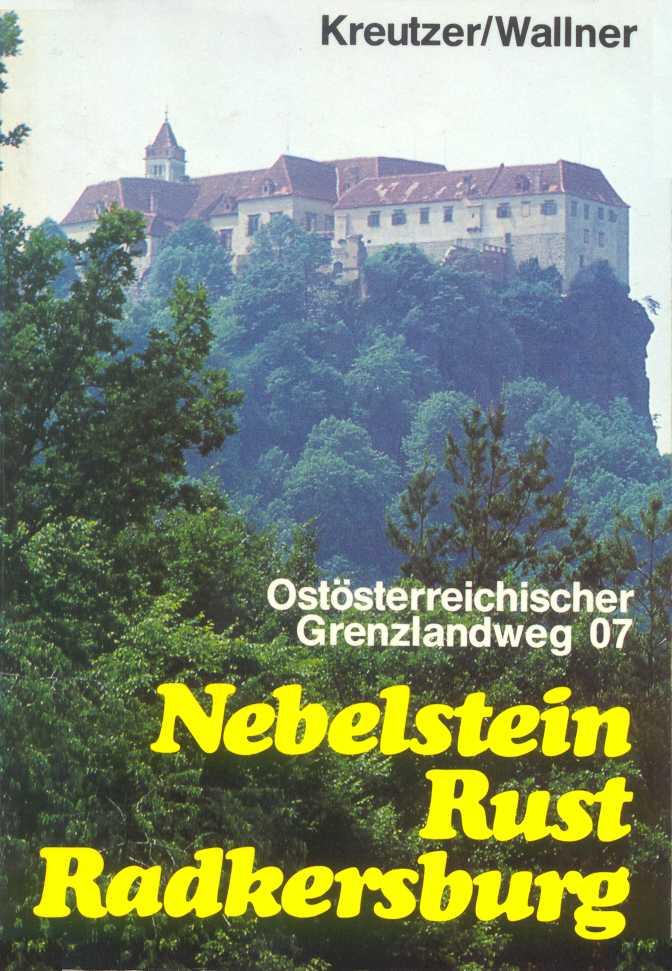 voorblad wandelboekje Ostösterreichischer Grenzlandweg 07 (Nebelstein-Rust-Radkersburg)