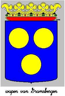 Dit is het wapen van Gramsbergen. Dit wapen is te vinden op de lokatie www.ngw.nl/indexgb.htm  Deze site is mogelijk gemaakt door de Bank Nederlandse Gemeente te Den Haag