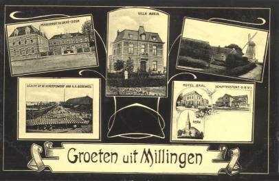 Groeten uit Millingen aan de Rijn