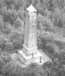 Woudenberg - Pyramide van Austerlitz, zoals het was
