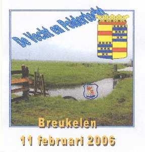 Wandelplaatje van de 40 km lange WS78-wandeltocht  de Vecht- en Poldertocht vanuit Breukelen op 11 februari 2006