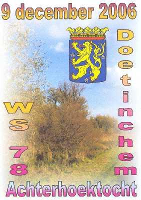 Wandelplaatje van de  40 km lange  Achterhoek-wandeltocht vanuit Doetinchem op zaterdag 9 december 2006.